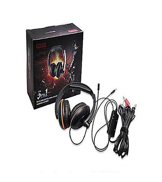 OTVO 5IN1 P4/P3/360/ONE/PC GAMING HEADSET WEARING A STEREO