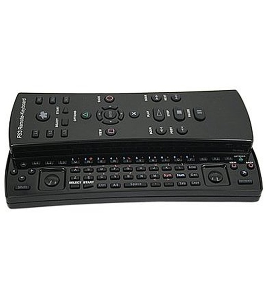 PEGA 3-IN-1 WIRELESS KEYBOARD/CONTROLLER/REMOTE FOR PS3