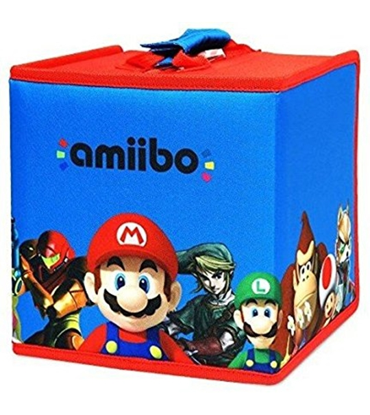 HORI OFFICIALLY AMIIBOO 8 FIGURE TRAVEL CASE