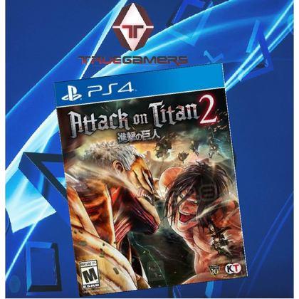 PS4 ATTACK ON TITAN 2 CHN/JPN R3 进击的巨人2亚洲中文版