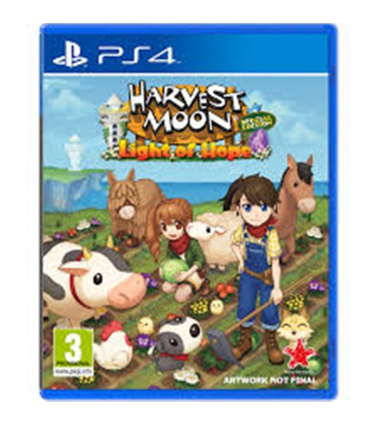 PS4 HARVEST MOON LIGHT OF HOPE SPECIAL EDITION ALL