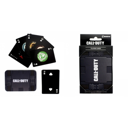 CALL OF DUTY PLAYING CARD