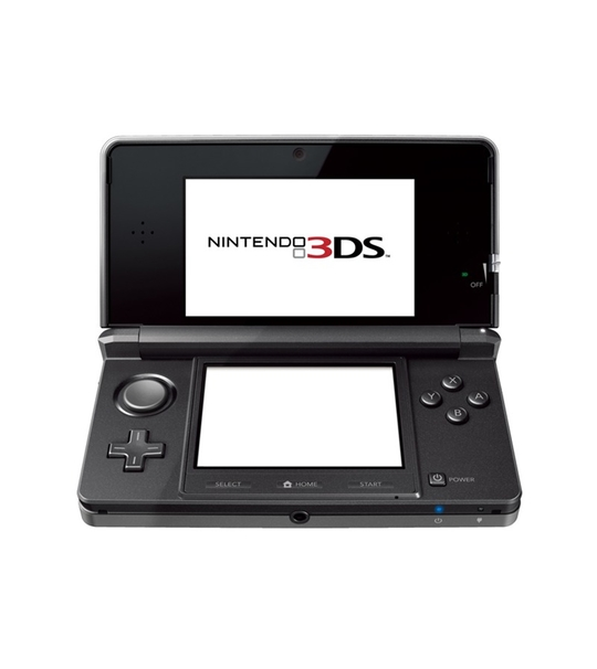 NINTENDO 3DS REFURBISHED SET BLACK COLOR JAPAN VERSION