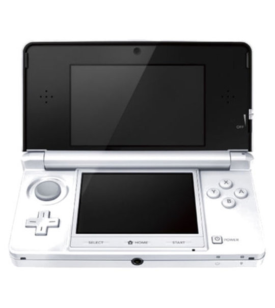 NINTENDO 3DS REFURBISHED SET WHITE COLOR JAPAN VERSION