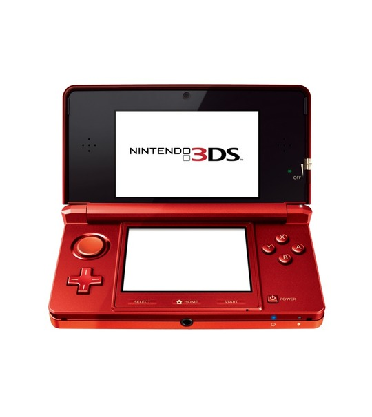 NINTENDO 3DS REFURBISHED SET RED COLOR JAPAN VERSION