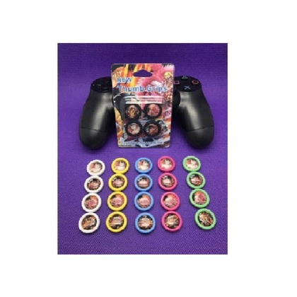 New Ps4 Thumb Grip With Color Print-One Piece Warrior Series (Pink Color)