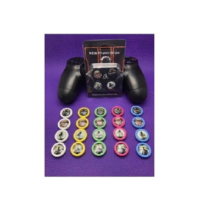 New Ps4 Thumb Grip With Color Print-Call Of Duty Series (Blue Color)