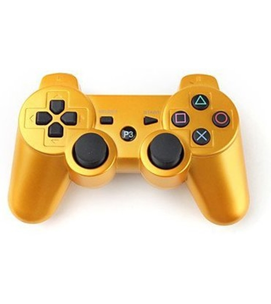 Ps3 Dual Shock 3 Controller Gold -OEM