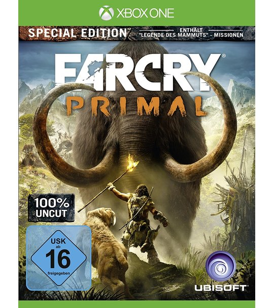 Xbox One Far Cry Primal Special Edition