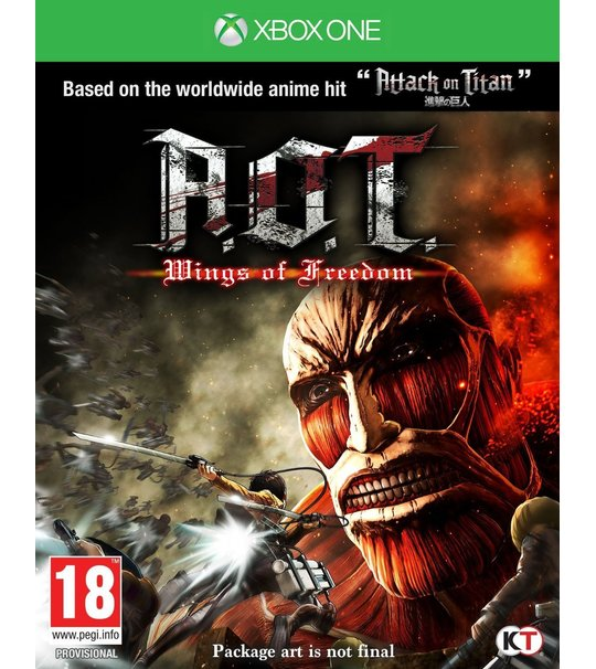 Xbox One Attack On TItan Wings Of Freedom (Special Price)