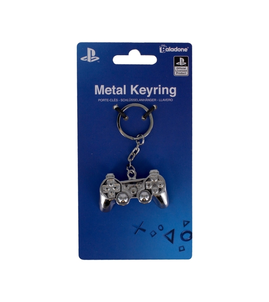 PLAYSTATION 3D METAL KEY RING