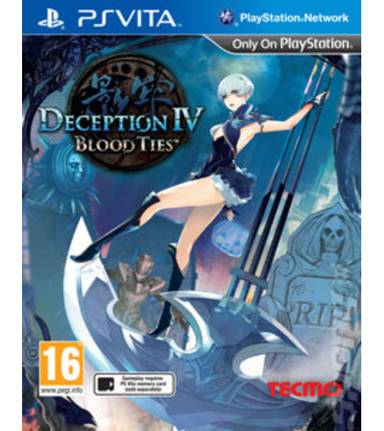 Ps Vita Deception IV Blood Ties-{R2}