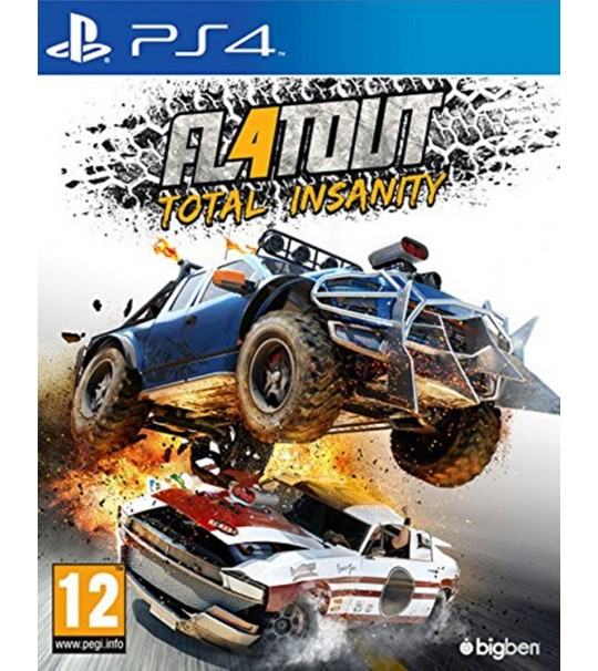 PS4 FLATOUT 4 TOTAL INSANITY - R2