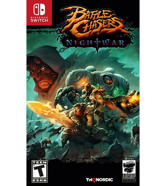 NINTENDO SWITCH BATTLE CHASERS NIGHTWAR