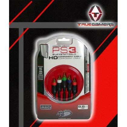 PS2/PS3 MADCATZ ORIGINAL COMPONENT CABLE