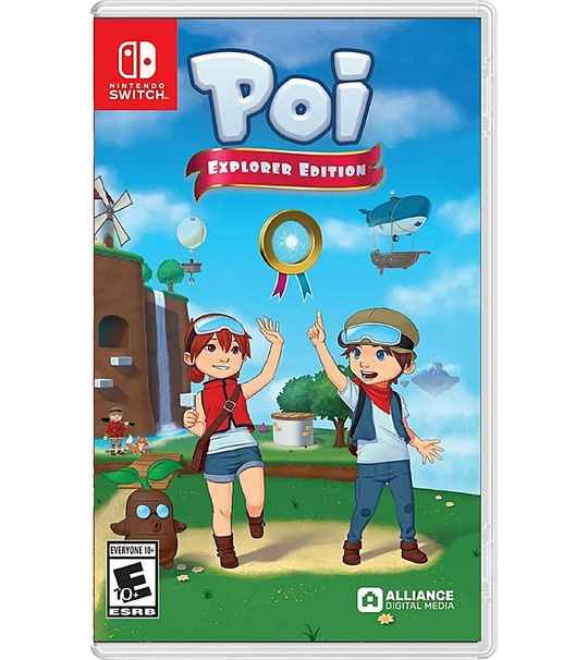 NINTENDO SWITCH POI EXPLORER'S EDITION