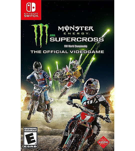 NINTENDO SWITCH MONSTER ENERGY SUPERCROSS: THE OFFICIAL VIDEOGAME