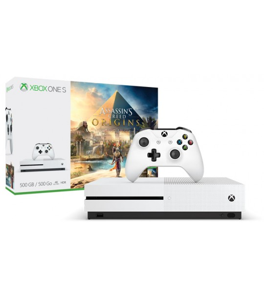 XBOX ONE S 500GB ASSASSIN CREED ORIGIN BUNDLE