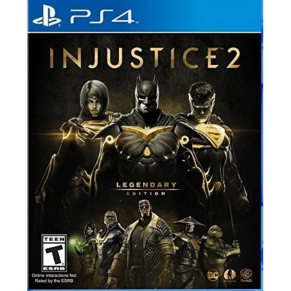 PS4 INJUSTICE 2 LEGENDARY EDITION R2