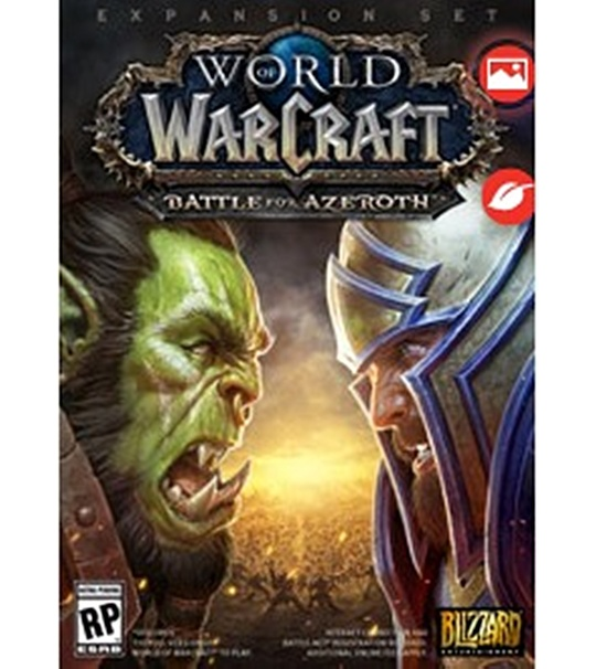 PC WORLD OF WARCRAFT BATTLE FOR AZEROTH (DIGITAL DOWNLOAD , NO DISC INCLUDED)
