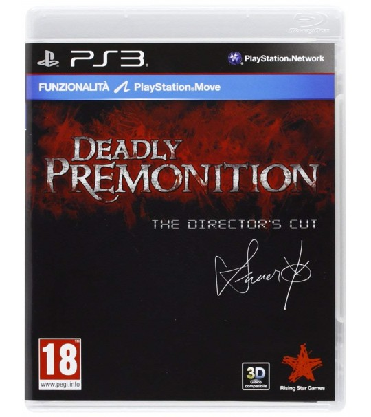 PS3 DEADLY PREMONITION THE DIRECTOR CUT -ALL