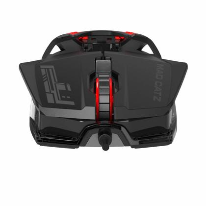 MAD CATZ PC OFFICIALLY R.A.T.1 WIRED GAME MOUSE - BLACK/RED
