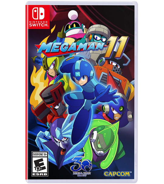 SWITCH MEGA MAN 11
