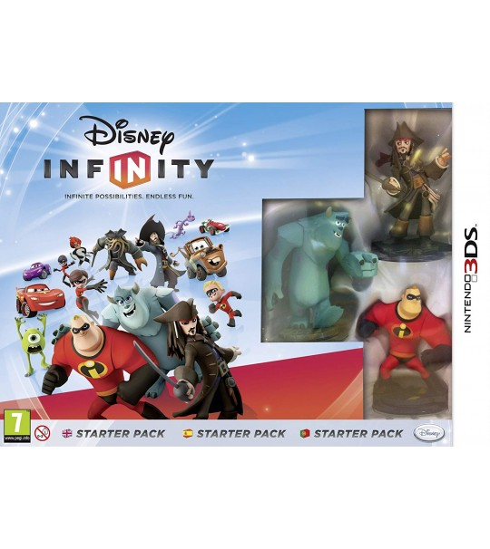 3DS DISNEY INFINITY TOY BOX CHALLENGE