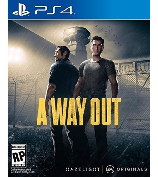 PS4 A WAY OUT R2
