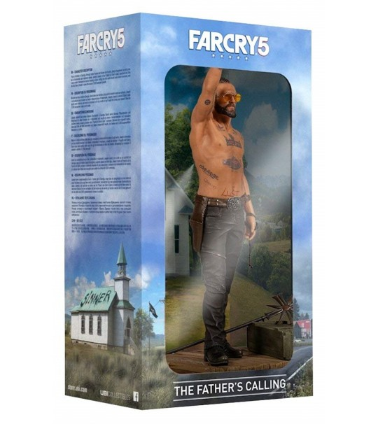 FAR CRY 5 THE FATHER CALLING FIGURINE