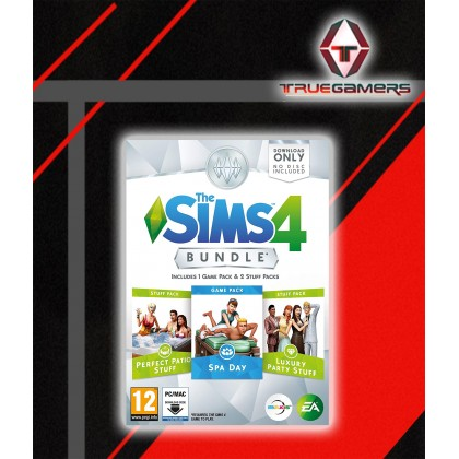 PC THE SIMS 4 BUNDLE PACK 1 SPA DAY (DIGITAL CODE ONLY)