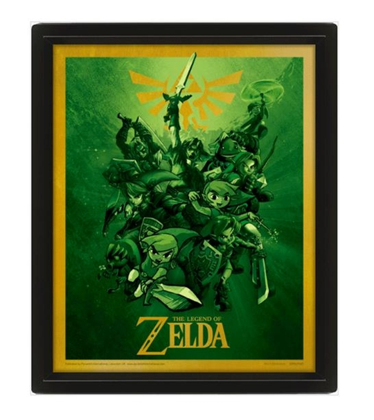 The Legend Of Zelda (Link) 10*8 3D Lenticular Poster