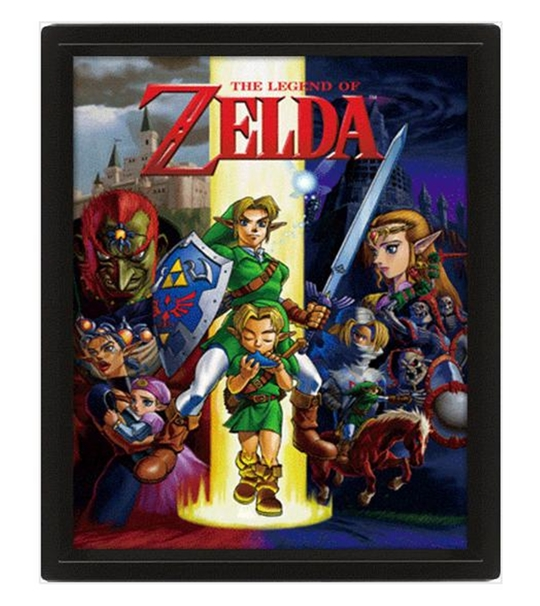 The Legend Of Zelda 10*8 3D Lenticular Poster