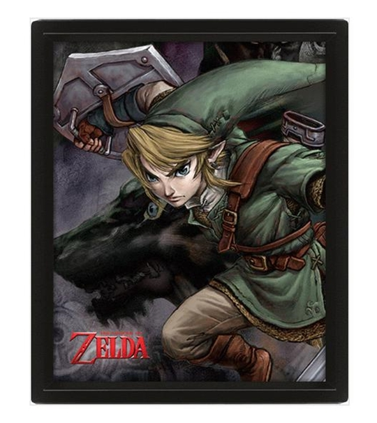 The Legend Of Zelda (Twilight Princess) 10*8 3D Lenticular Poster