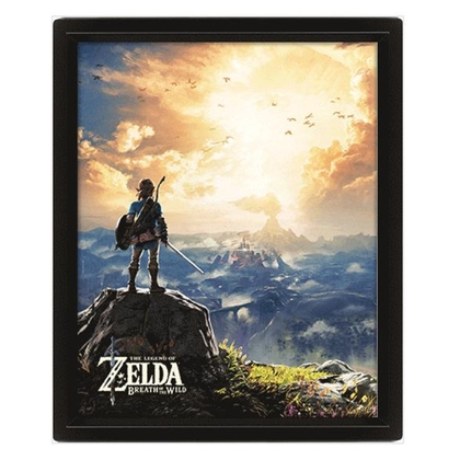 The Legend Of Zelda (Sunset) 10*8 3D Lenticular Poster
