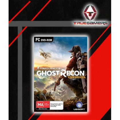 PC TOM CLANCYS GHOST RECOND WILDLAND(DIGITAL CODE , NO DISC INCLUDED)