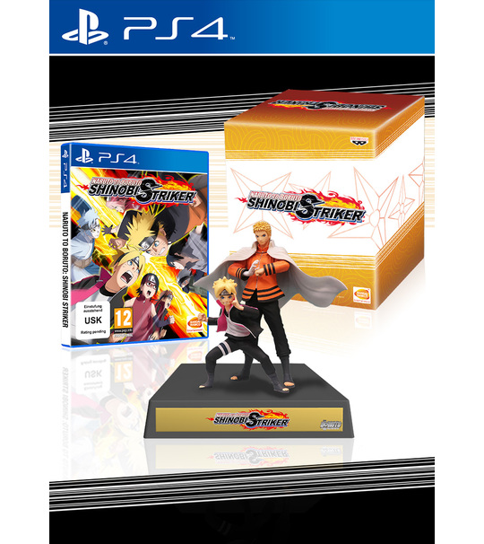 PS4 NARUTO TO BORUTO  SHINOBI STRIKER COLLECTOR EDITION R3 ENG/JPN