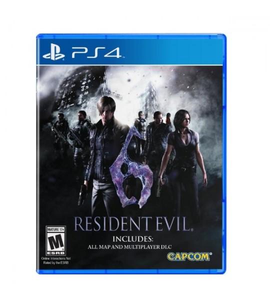 PS4 RESIDENT EVIL 6 - R2
