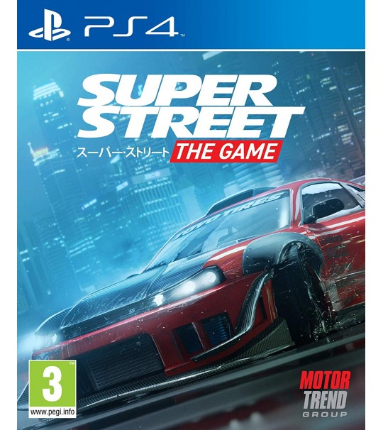 PS4 SUPER STREET THE GAME R2