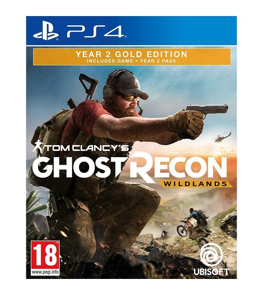 PS4 TOM CLANCYS GHOST RECON WILDLANDRS YEAR 2 GOLD EDITION