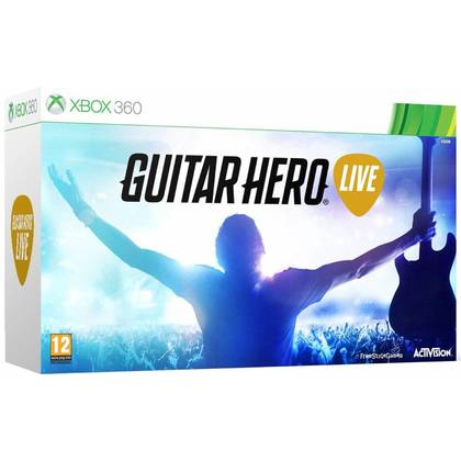 XBOX 360 GUITAR HERO LIVE GUITAR NO INCLUDED GAMES