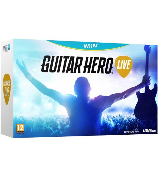 WII U GUITAR HERO LIVE GUITAR NO INCLUDED GAMES