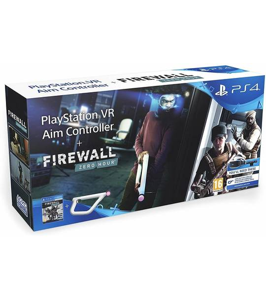 PS4 FIREWALL ZERO HOUR AIM CONTROLLER GAMES BUNDLE