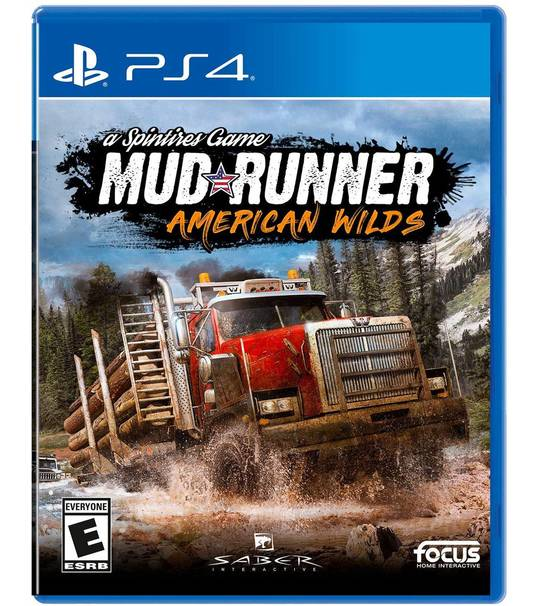 PS4 MUD RUNNER AMERICAN WILDS R2