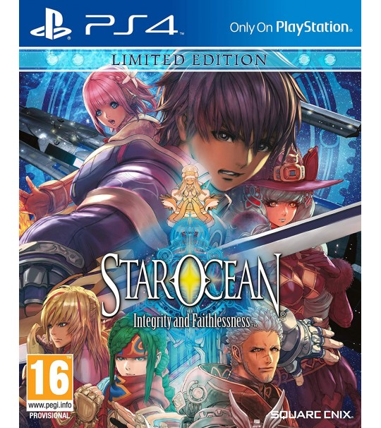 PS4 STAR OCEAN INTEGRITY AND FAITHLESSNESS LIMITED EDITION R2