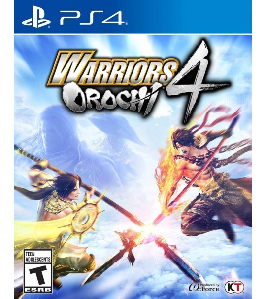 PS4 WARRIORS OROCHI 4 R2 ENG