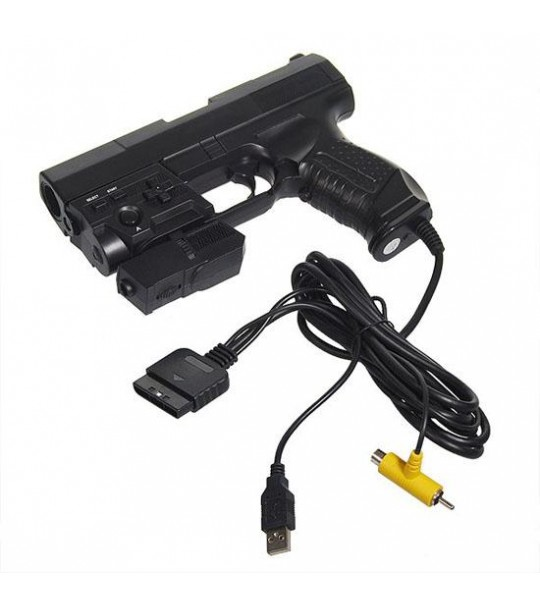 GUN PS2 ZERO FORCE LASER GUN