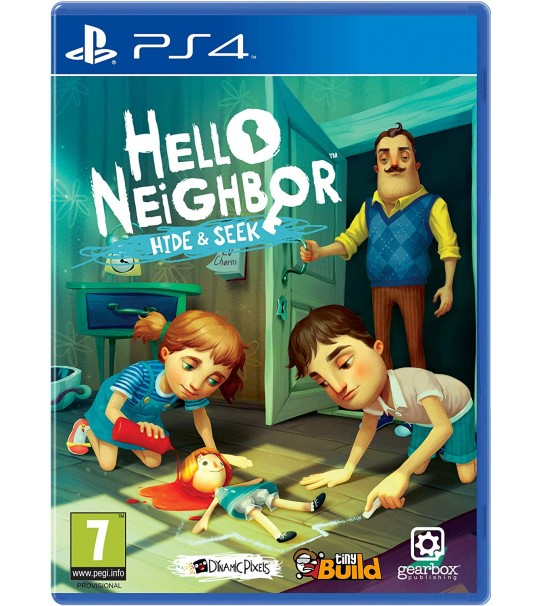 PS4 HELLO NEIGHBOUR HIDE & SEEK R2[PRE ORDER 7/12/2018]