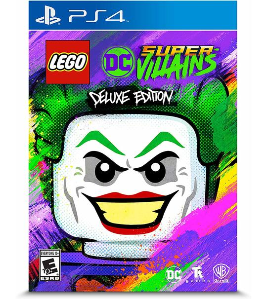 PS4 LEGO DC SUPER VILLAINS DELUXE EDITION R2
