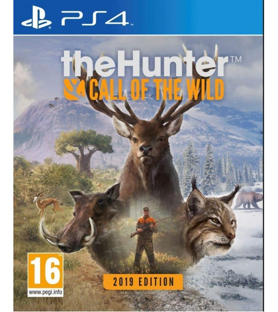 PS4 THE HUNTER CALL OF THE WILD 2019 EDITION R2
